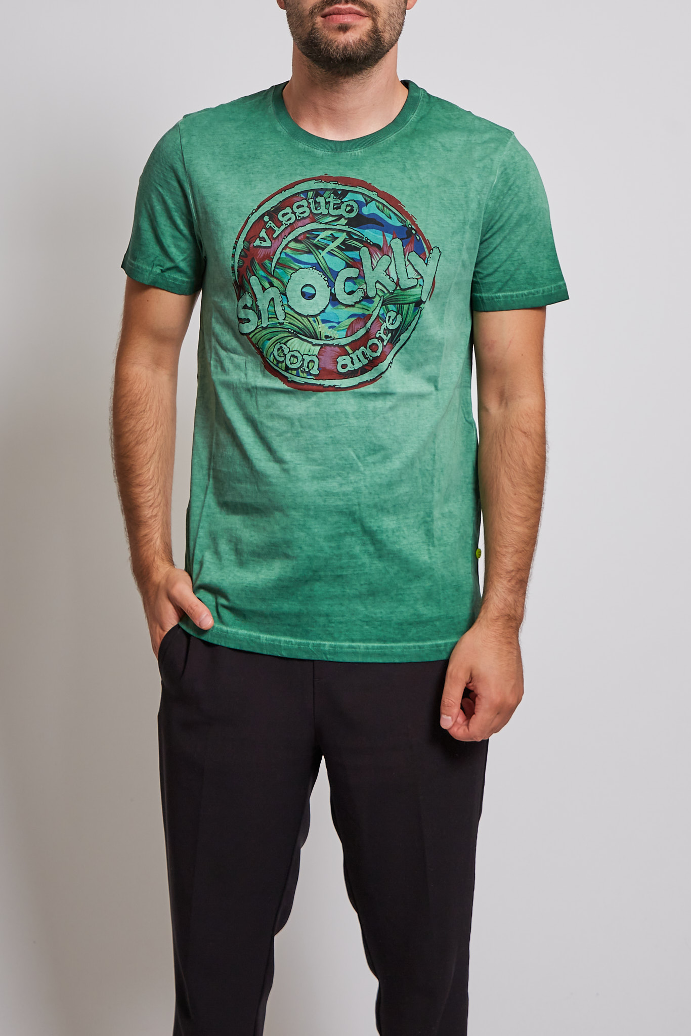 T-shirt Shockly SHOCKLY | T-shirt | 213T330HERB