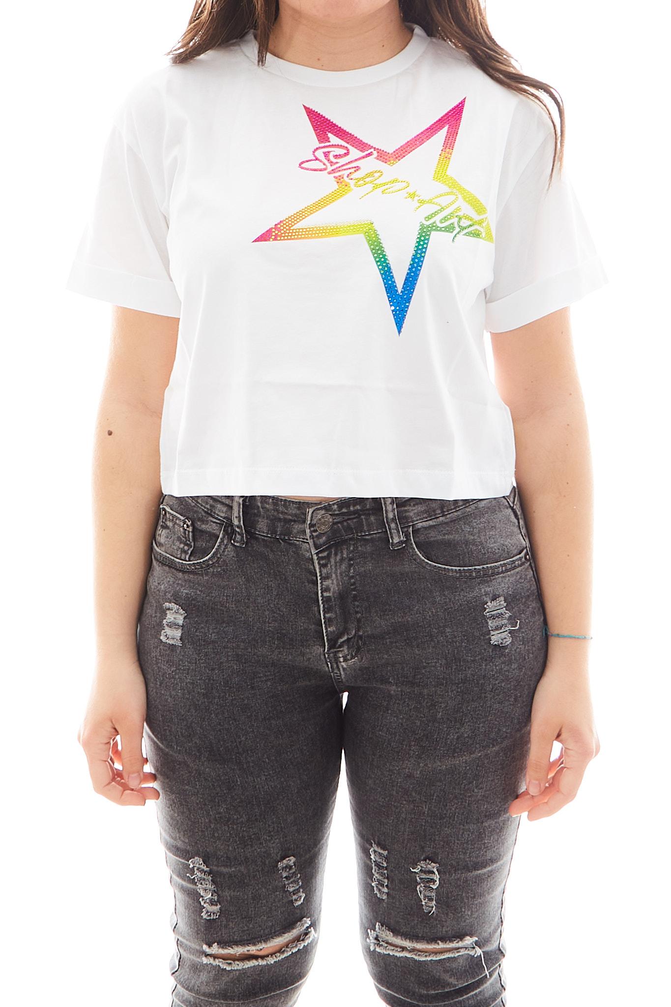 T-shirt Shop Art SHOP ART   T-shirt   SH60865BIANCO