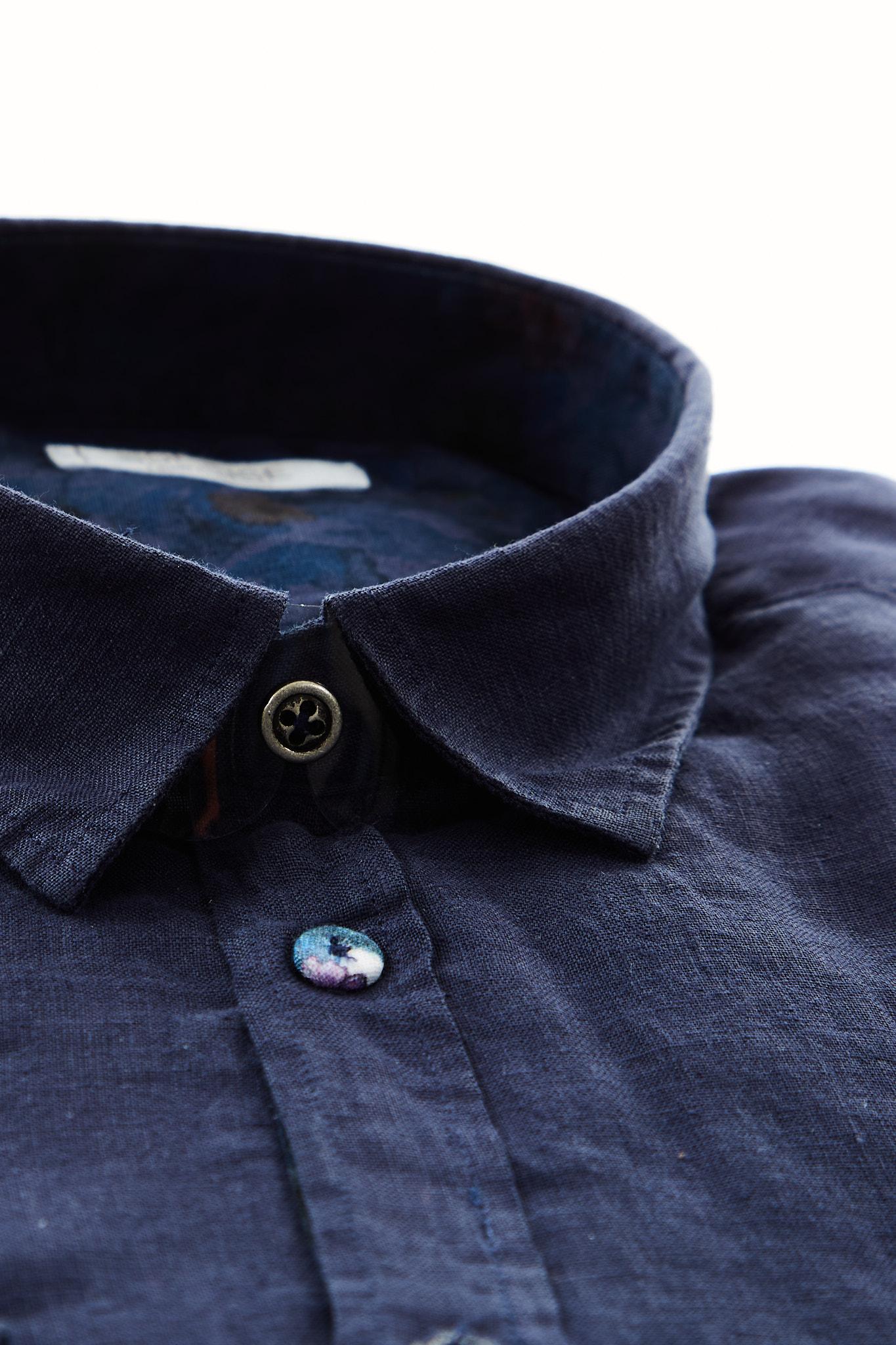 Camicia in lino Sseinse SSEINSE | Camicia | CE654SSBLU NAVY