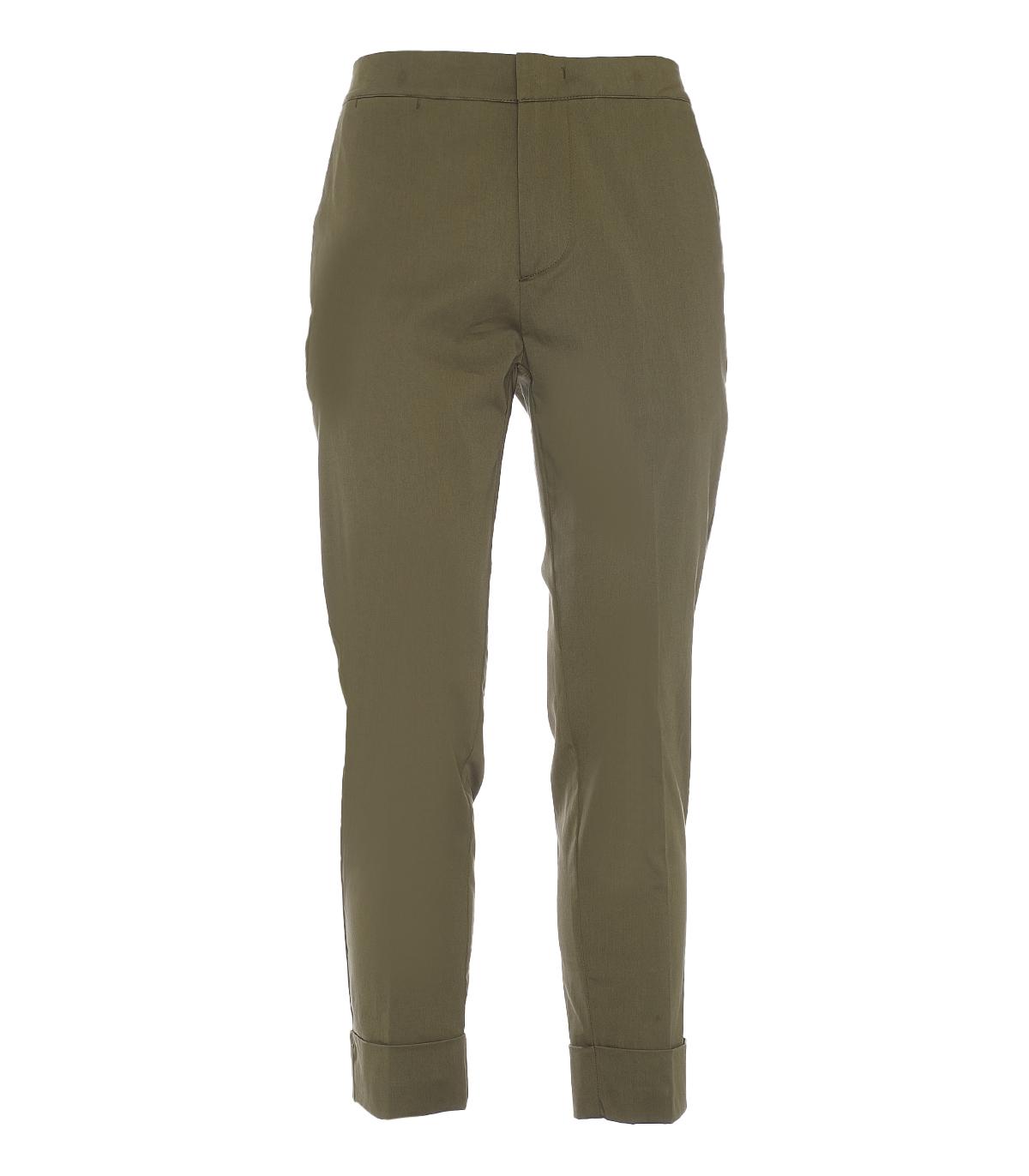 Pantalone Sseinse SSEINSE   Pantalone   PSE723SSVERDE MILITARE