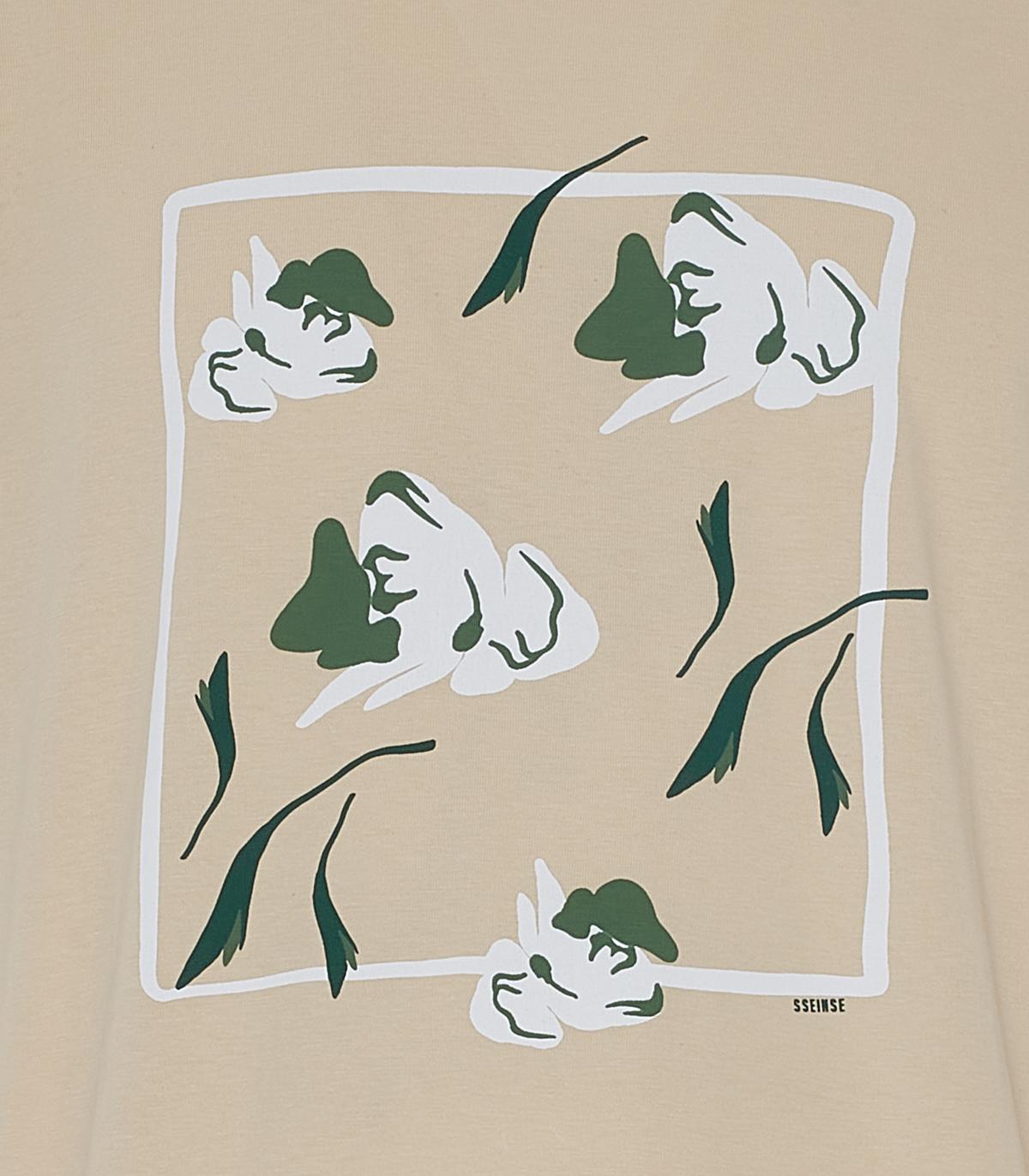 T-shirt SSEINSE | T-shirt | TE1818SSBEIGE