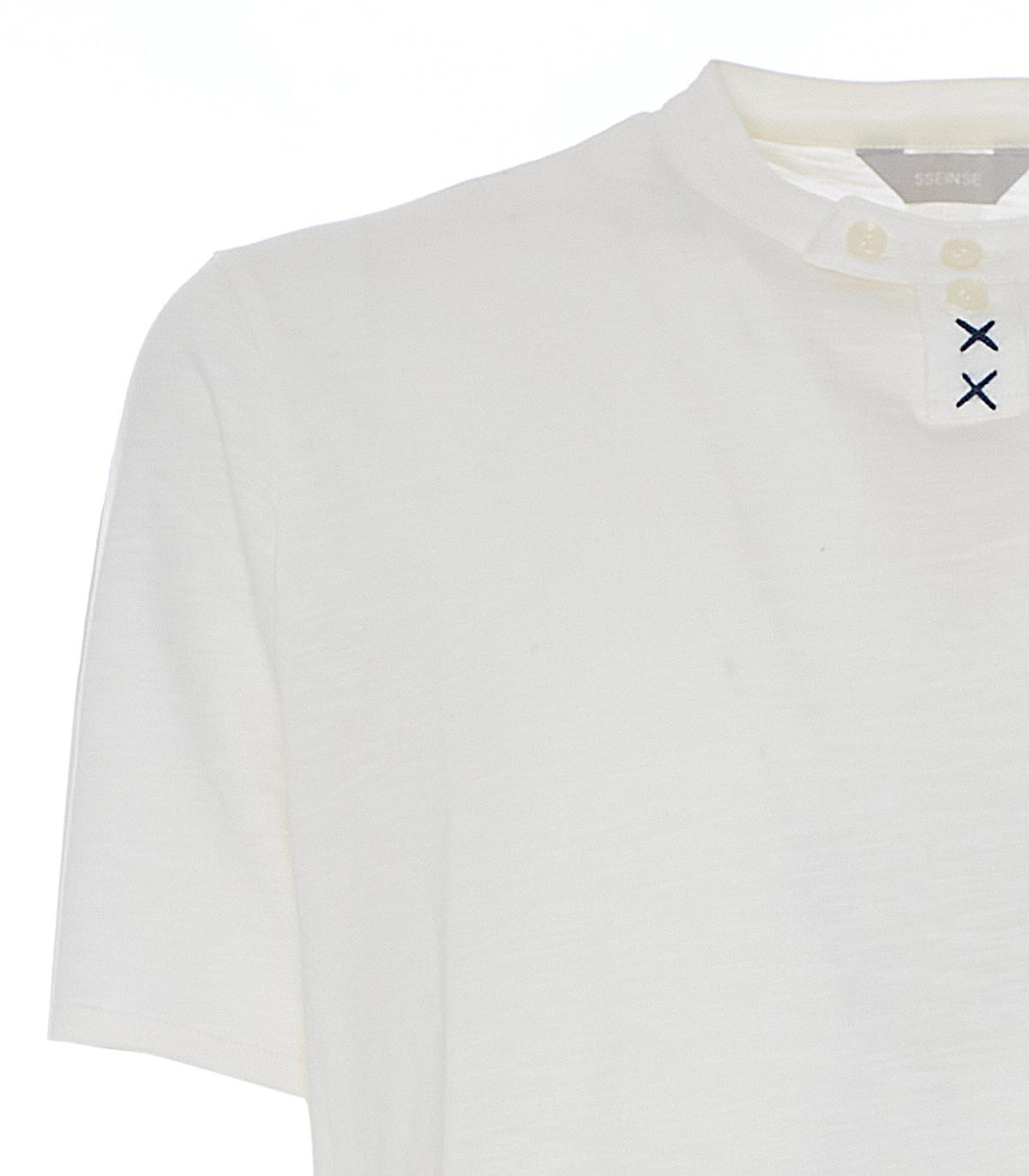 T-shirt in cotone Sseinse SSEINSE   Maglia   TE1848SSOFF WHITE