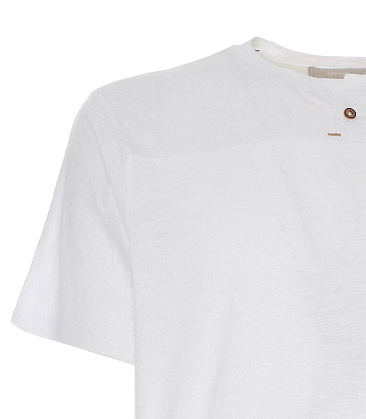 T-shirt in lino Sseinse SSEINSE   Maglia   TE1893SSBIANCO