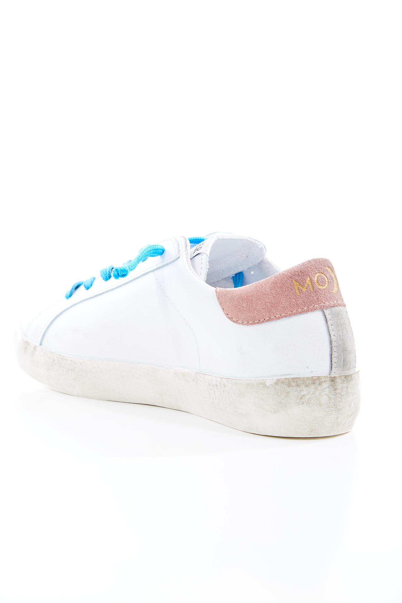 Sneakers basse in pelle UMA PARKER | Scarpe | SUPER MOONBIANCO/ROSA