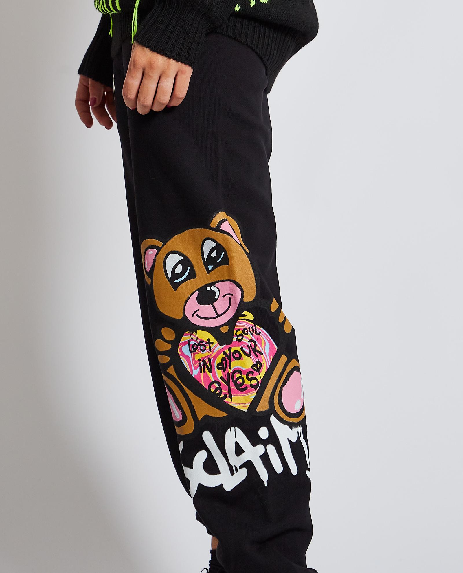 Pantalone tuta DISCLAIMER | Pantalone | DS50887NERO