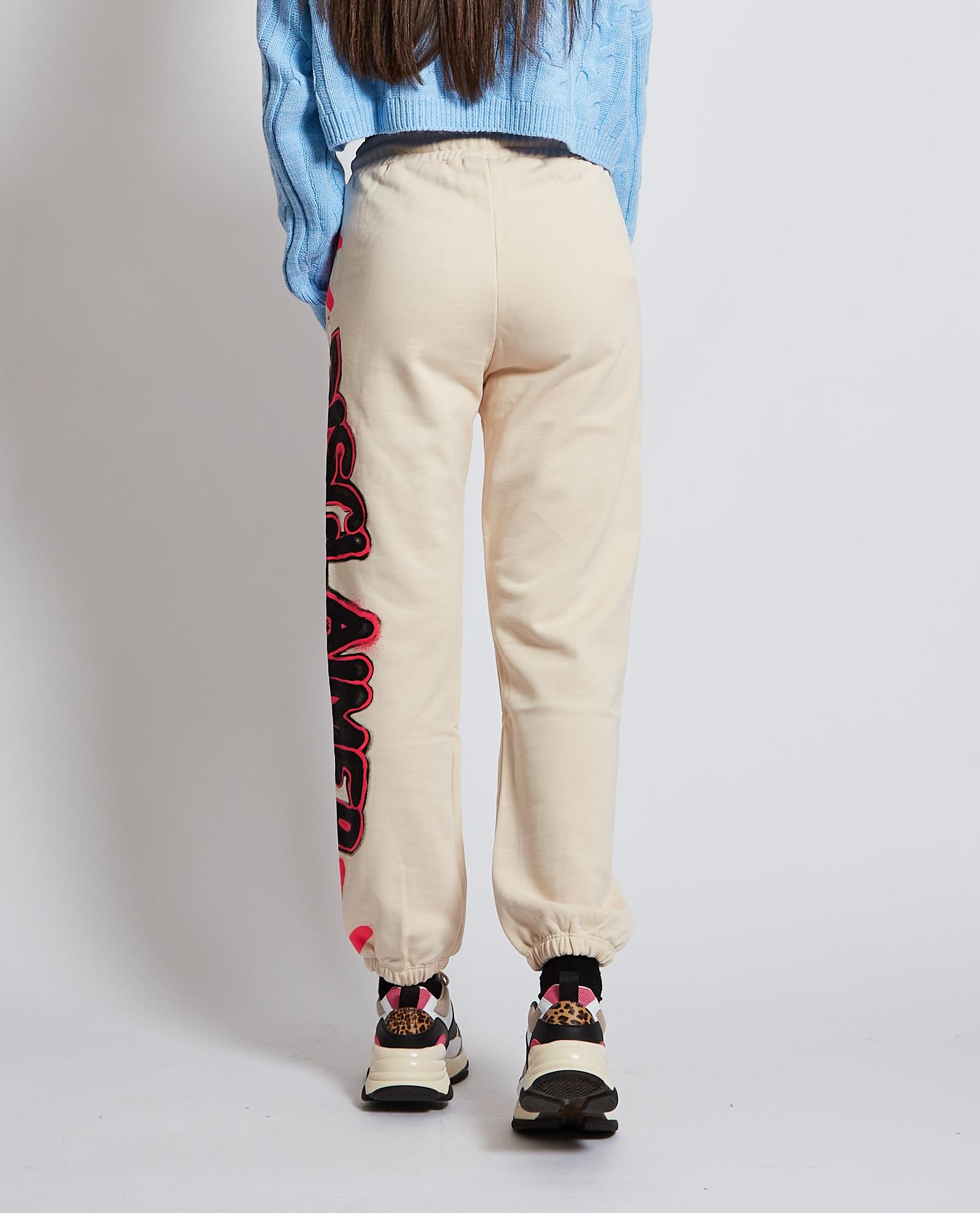 Pantalone tuta DISCLAIMER | Pantalone | DS50942OFF WHITE