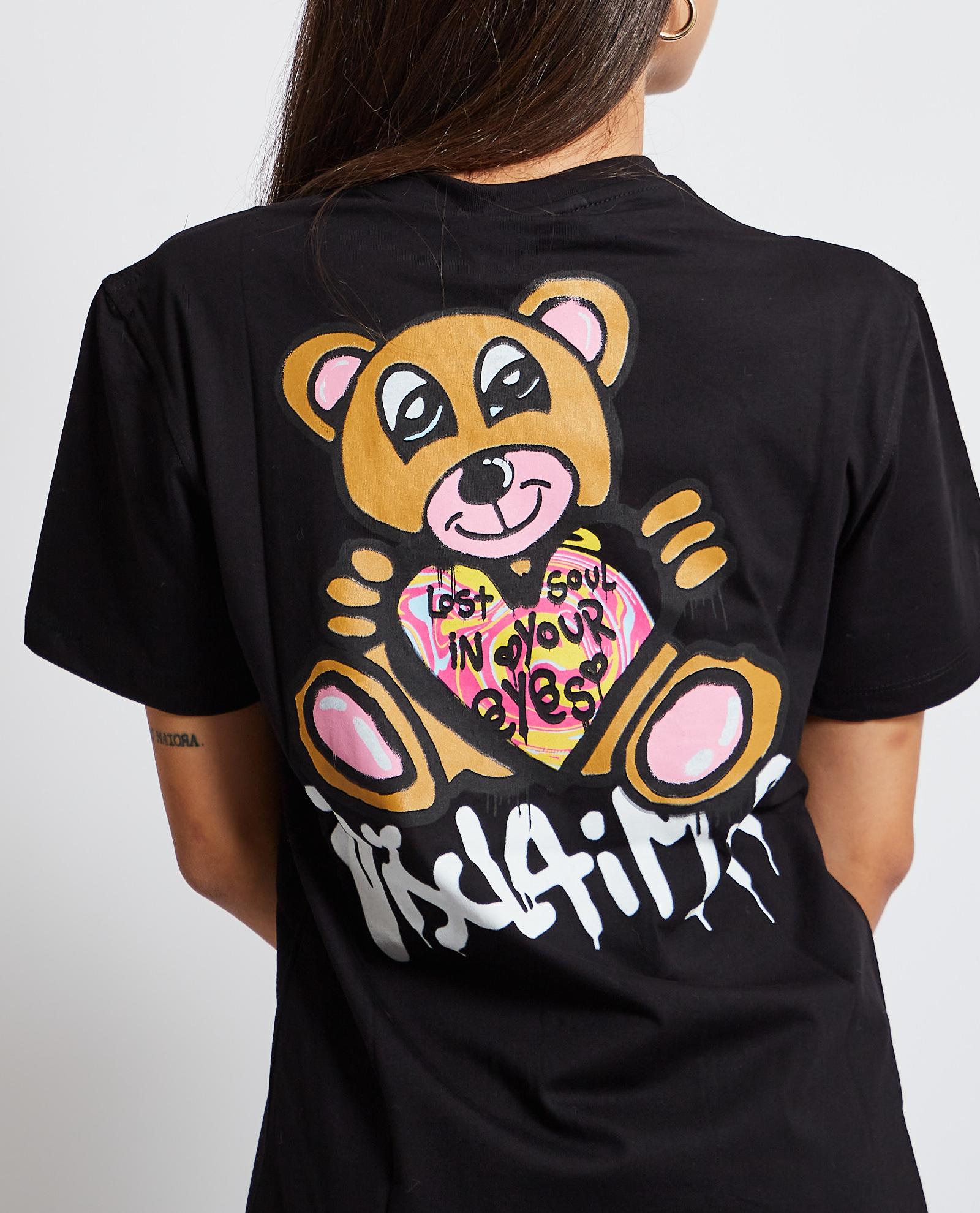 T-shirt Disclaimer DISCLAIMER   T-shirt   DS50965NERO