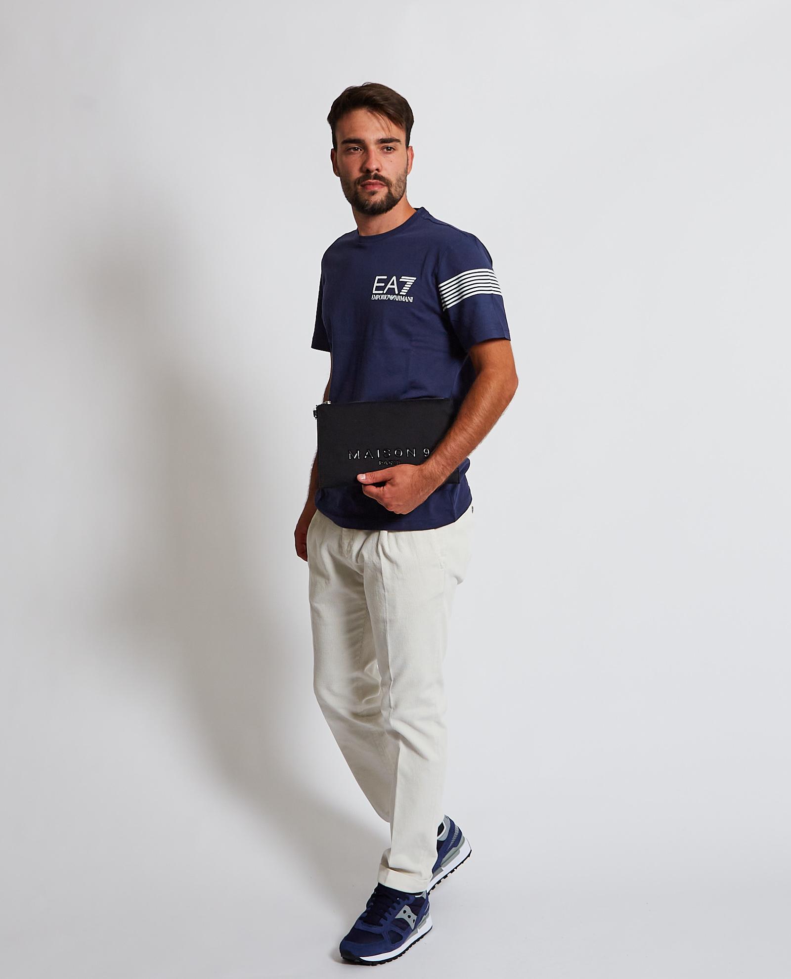 T-shirt con logo sul petto EA7 EA7 | T-shirt | 6KPT03-PJ3BZ1554