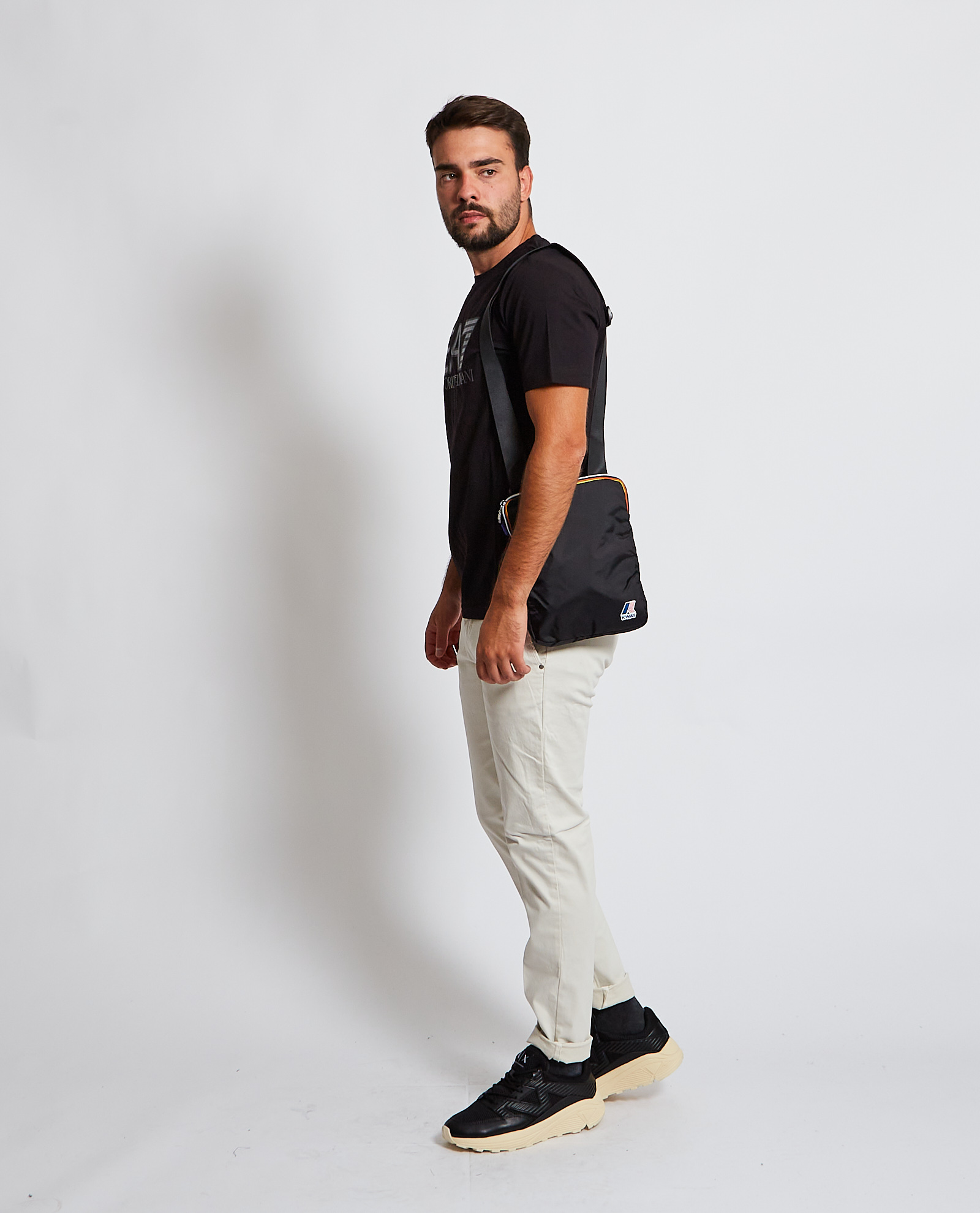 T-shirt con logo EA7 EA7   T-shirt   6KPT62-PJ03Z1200