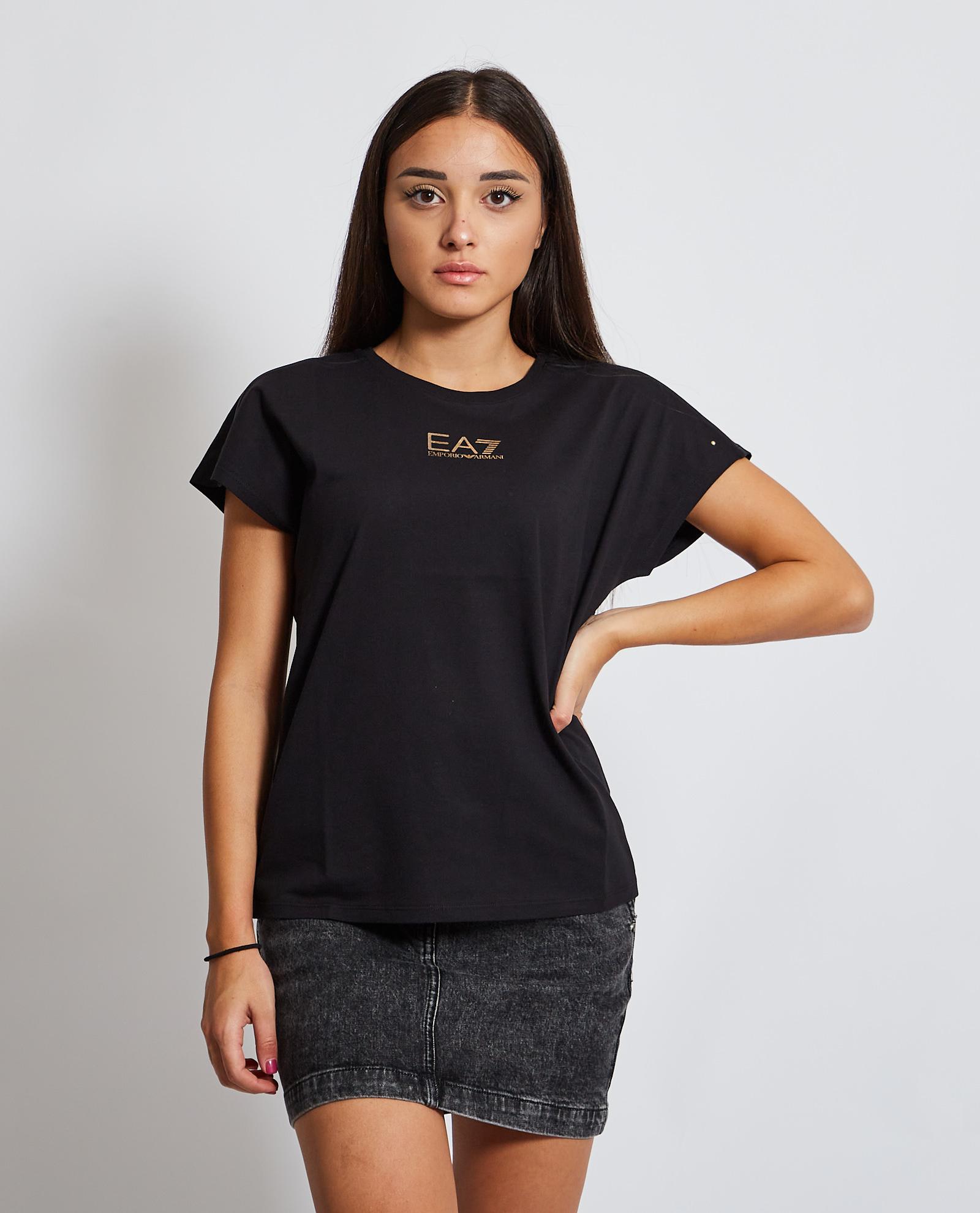 T-shirt con logo EA7 | T-shirt | 6KTT04-TJBEZ1200