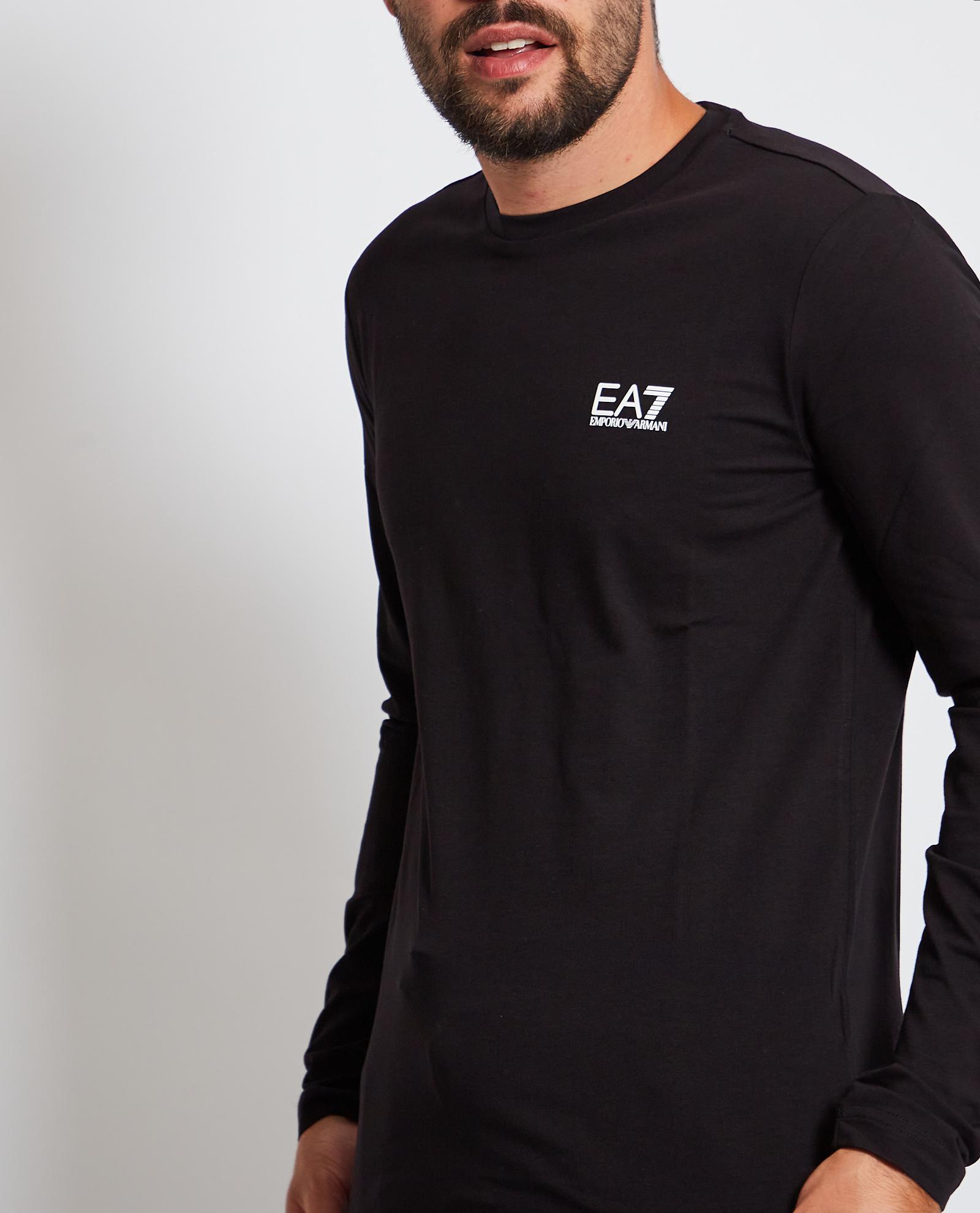 Maglia a manica lunga con logo EA7 | Maglia | 8NPT55-PJM5Z1200