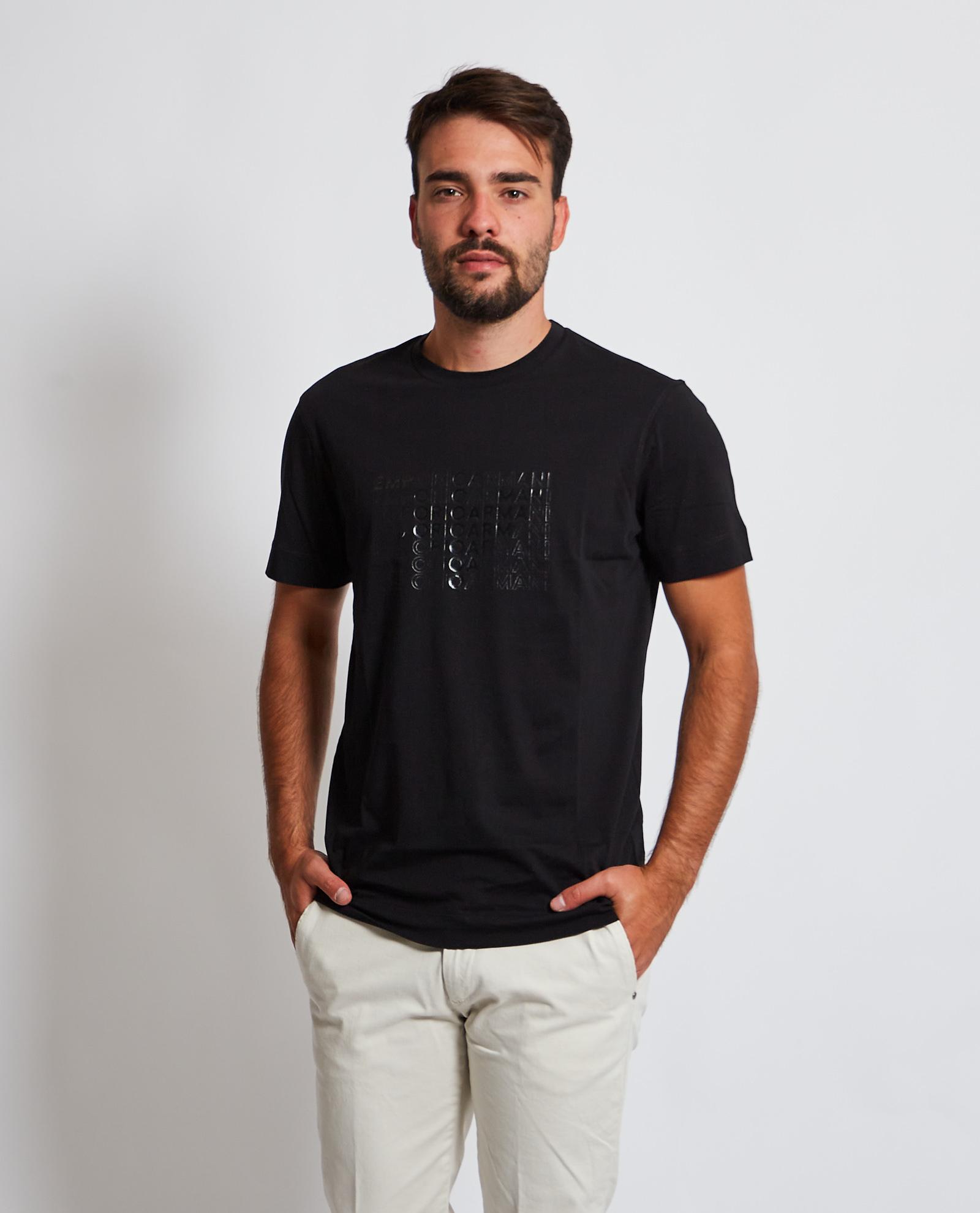 T-shirt con stampa Emporio Armani EMPORIO ARMANI   T-shirt   6K1TA5-1JPZZ0027