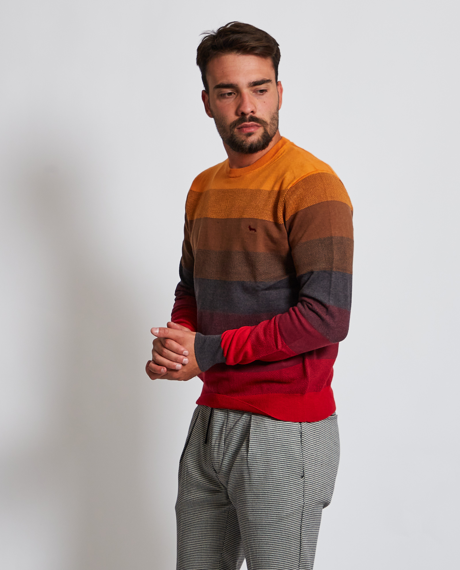 Pullover in cotone Harmont and Blaine HARMONT & BLAINE | Maglia | HRG353030788401