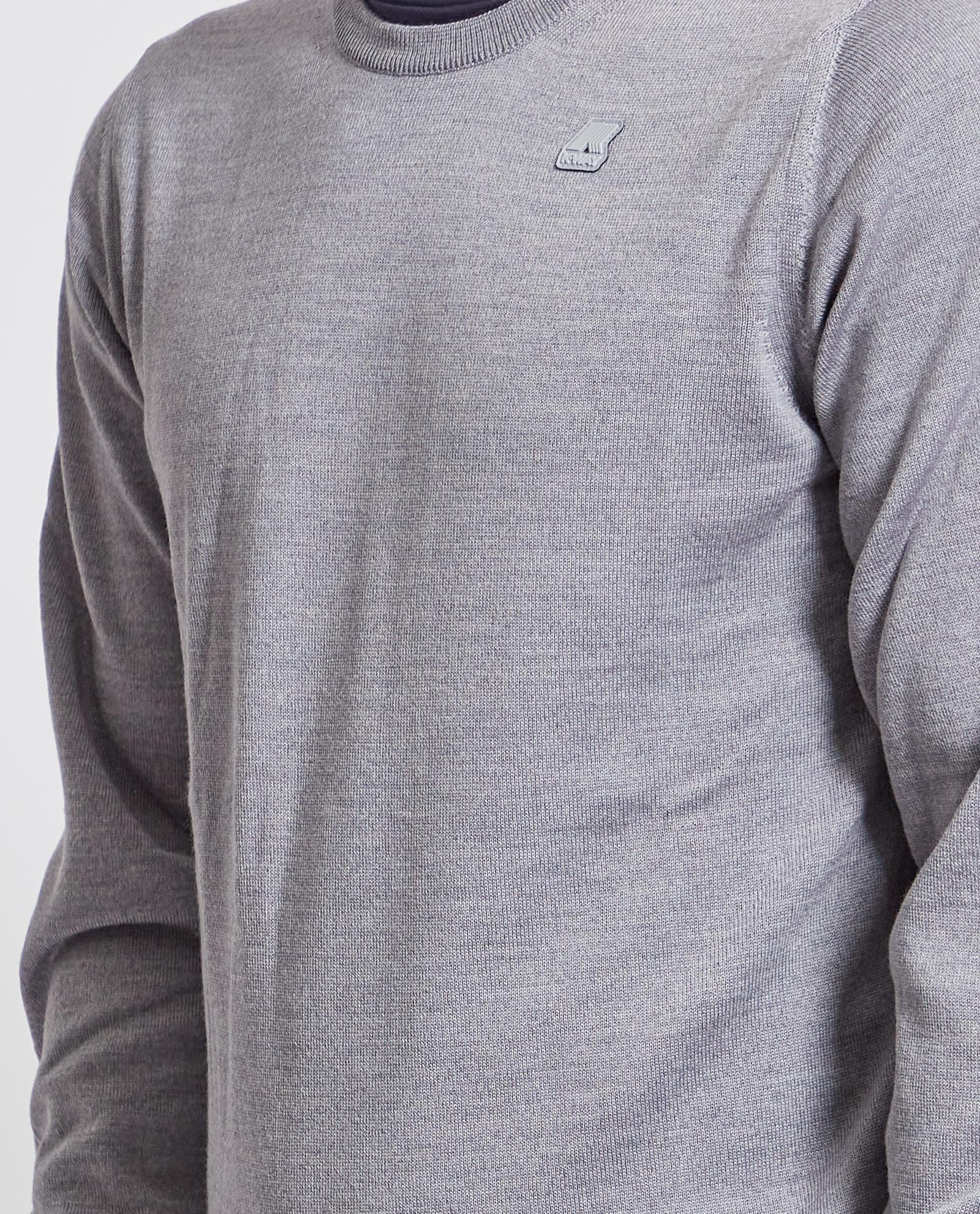 Pullover con logo K-way K-WAY   Maglia   K6113BW-SEBASTIEN UXBD