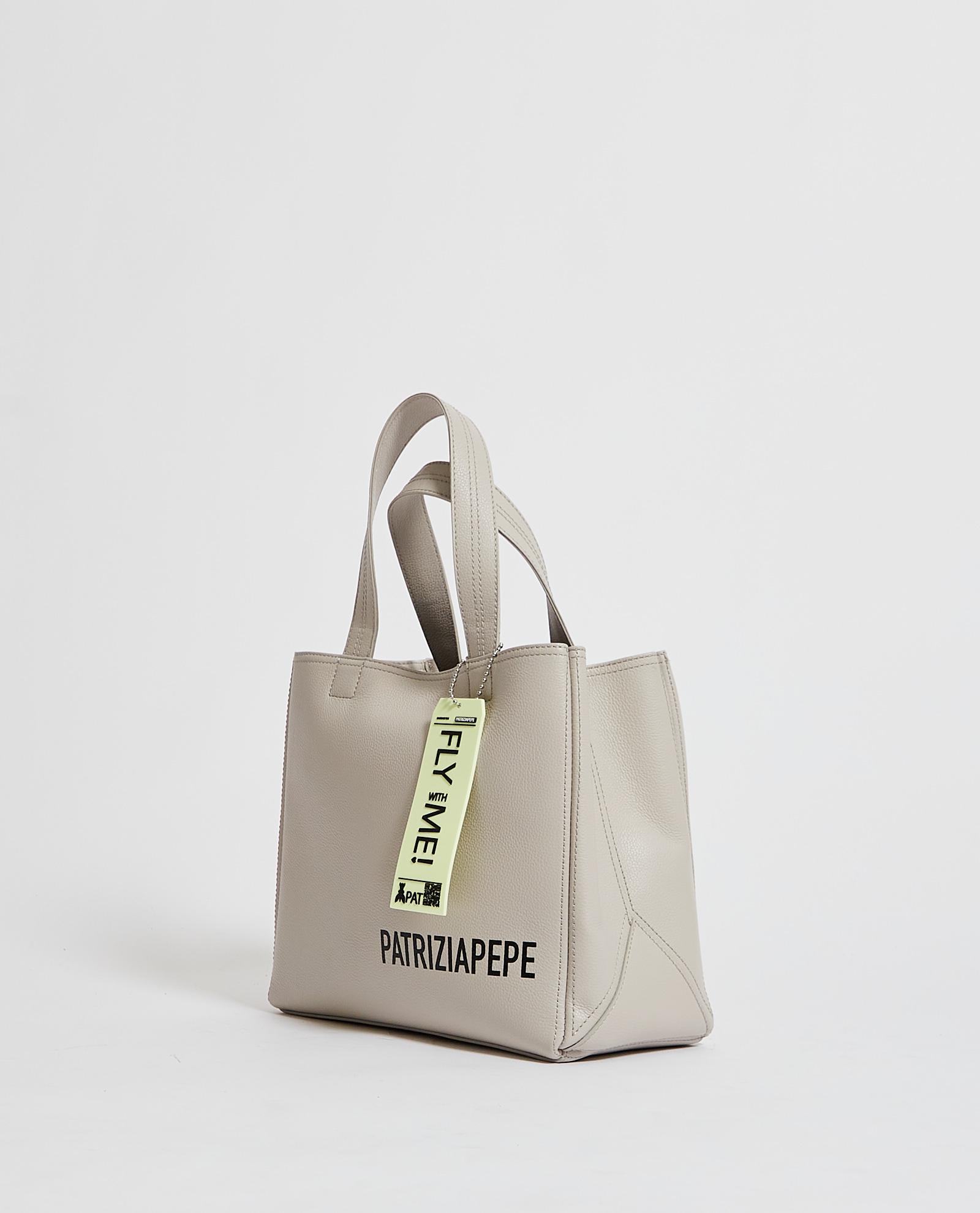 Shopping bag con pochetta interna PATRIZIA PEPE   Borsa   2VA060-A4U8S619