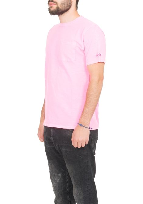 T-shirt MC2 SAINT BARTH   T-shirt   PRESIDENTROSA FLUO