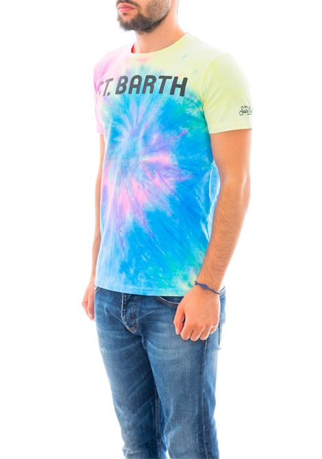 T-shirt MC2 SAINT BARTH | T-shirt | TSHIRT MANSB TIE DYE FLUO