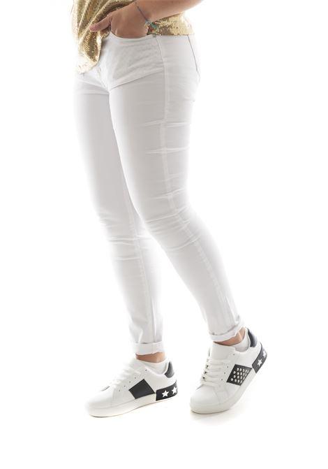 Pantalone SETTE/MEZZO | Jeans | E31-5TASCHEBIANCO