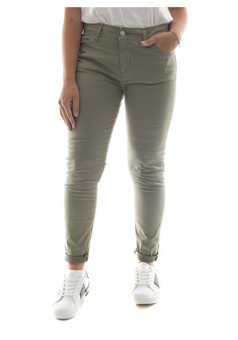 Pantalone SETTE/MEZZO | Jeans | E31-5TASCHEVERDE OLIVA