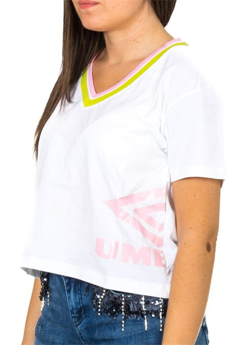 T-shirt UMBRO | T-shirt | PU0551BIANCO