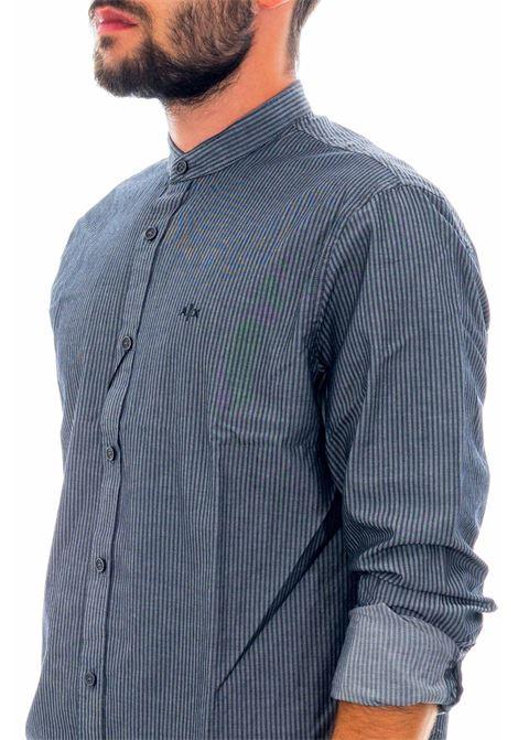 Camicia collo coreano ARMANI EXCHANGE | Camicia | 6HZC69-ZNQYZ7247