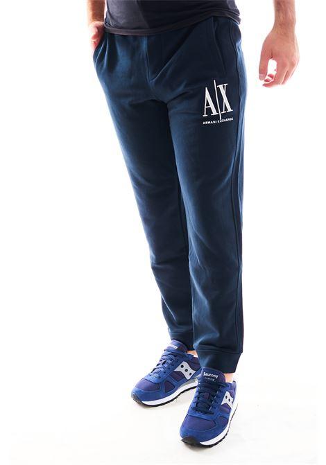 Joggers con polsino ARMANI EXCHANGE | Pantalone | 8NZPPA-ZJ1ZZ1510