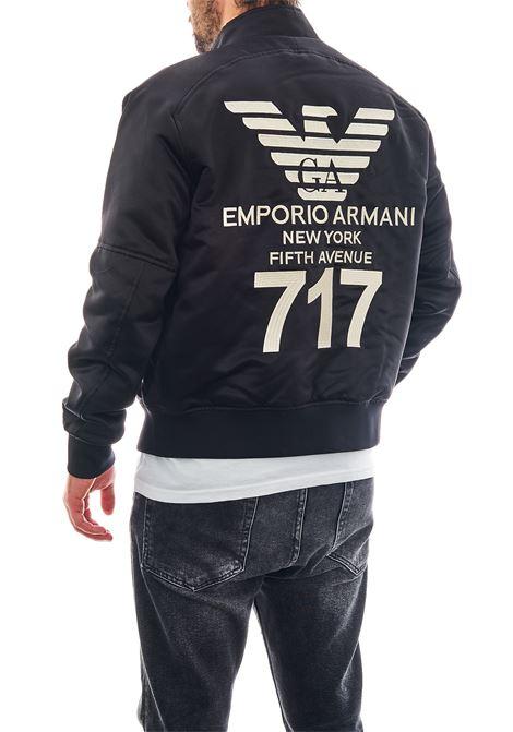 Bomber in raso EMPORIO ARMANI | Giubbotto | 6H1BL7-1NYCZ0012