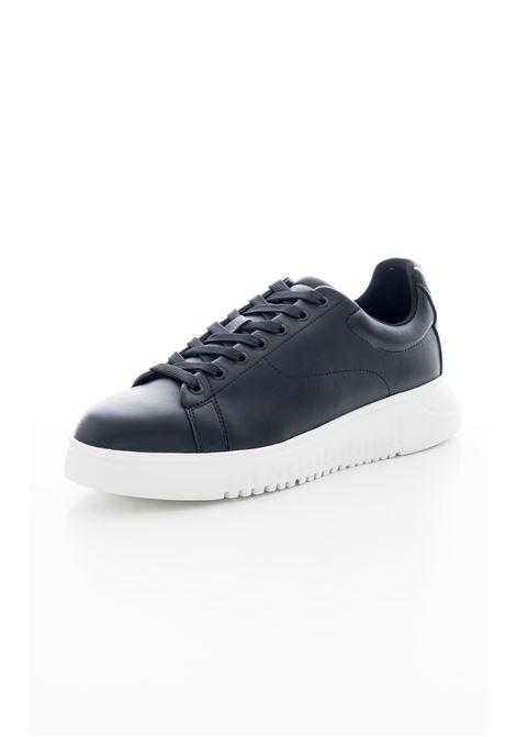 Sneakers in pelle EMPORIO ARMANI | Scarpe | X4X312-XM490K001