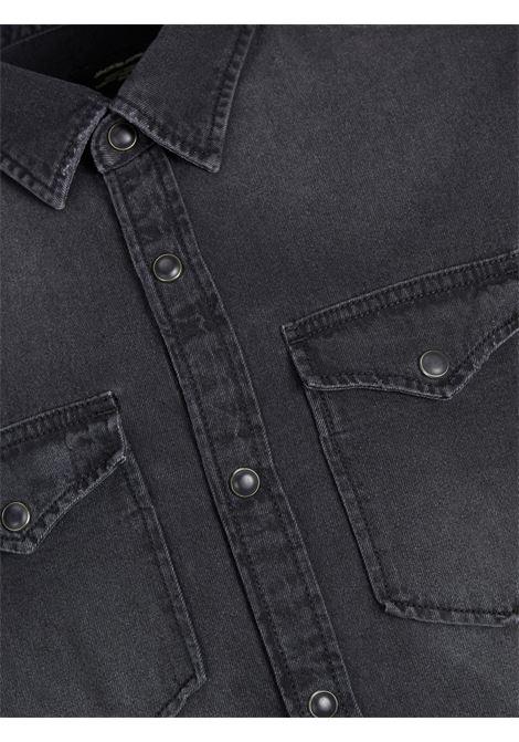 JJEWESTERN SHERIDAN SHIRT L/S NOOS JR JACK&JONES | Camicia | 12148417BLACK DENIM