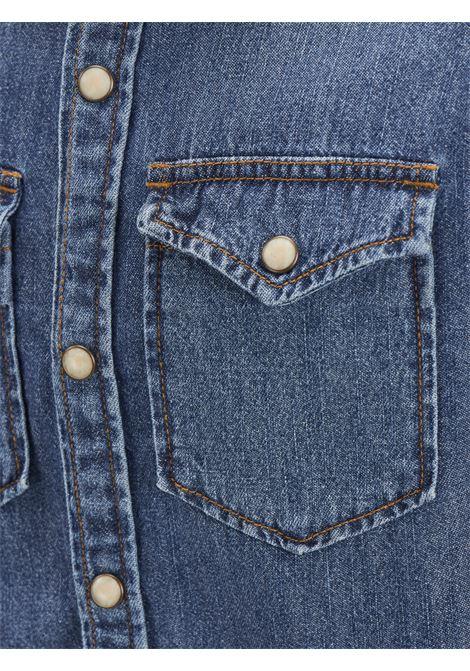 JJEWESTERN SHERIDAN SHIRT L/S NOOS JR JACK&JONES | Camicia | 12148417MEDIUM BLUE DENIM