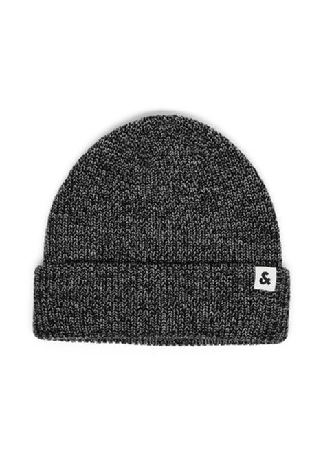 JACTWISTED KNIT SHORT BEANIE JACK&JONES | Cappello | 12158599BLACK