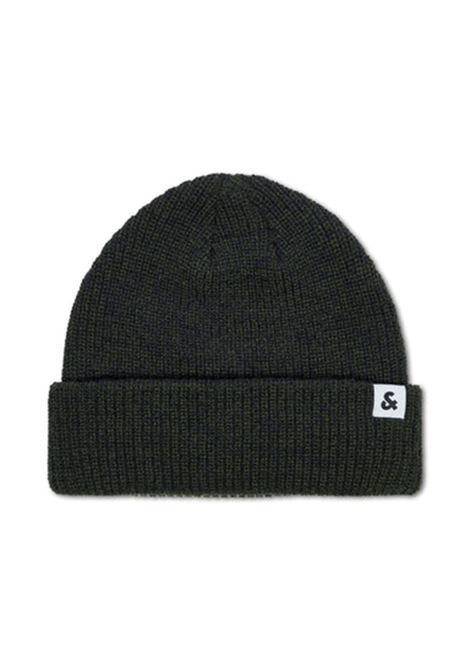 JACTWISTED KNIT SHORT BEANIE JACK&JONES | Cappello | 12158599FOREST NIGHT