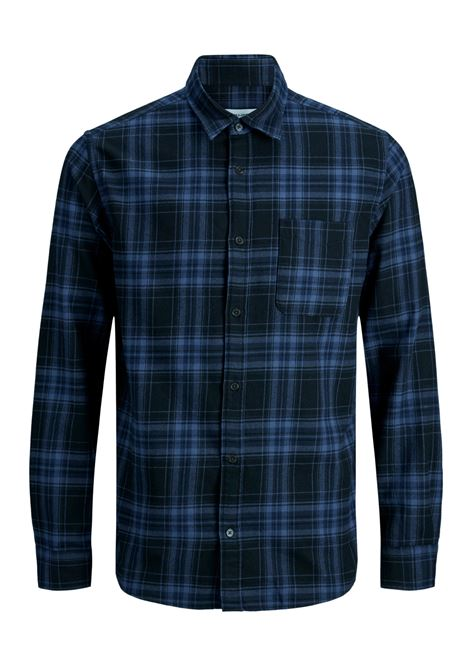 JJPLAIN PRE CHECK SHIRT LS JACK&JONES | Camicia | 12174061BLACK
