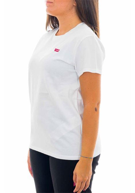T-shirt con logo LEVI'S | T-shirt | 39185-0006WHITE