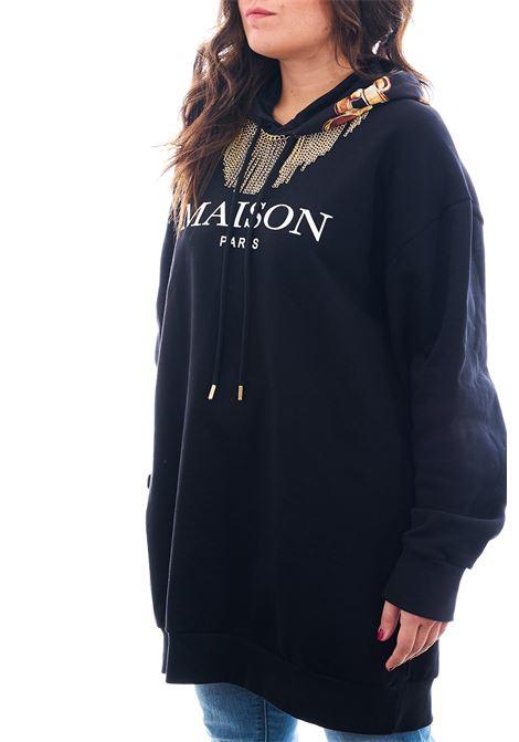 Felpa oversize MAISON 9 PARIS | Felpa | F143NERO