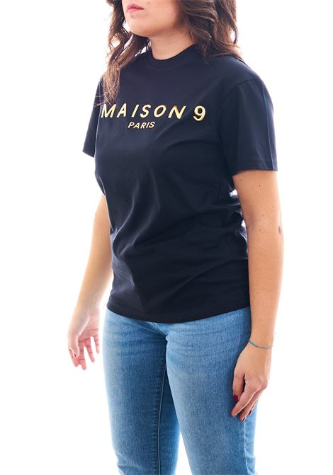 T-shirt MAISON 9 PARIS | T-shirt | M4113NERO/ORO