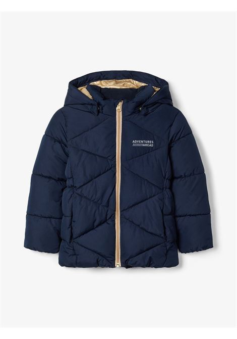 NMFMILTON PUFFER JACKET CAMP NAME IT | Giubbotto | 13178611DARK SAPPHIRE