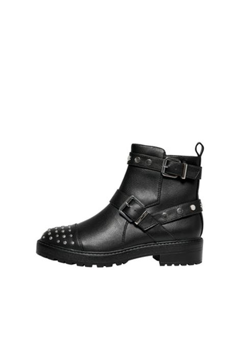 ONLBAD-14 PU STUD BOOT ONLY SHOES | Scarpe | 15211839BLACK