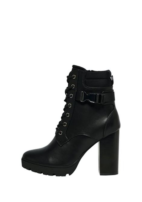 ONLTAYA-2 PU BUCKLE HEELED BOOT ONLY SHOES | Scarpe | 15212299BLACK
