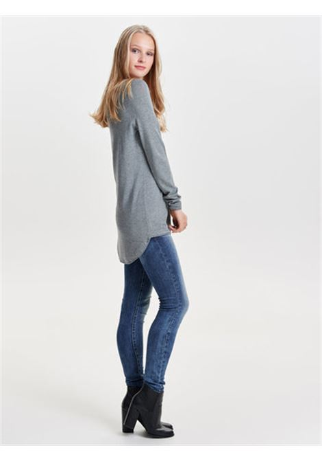 ONLMILA LACY L/S LONG PULLOVER KNT NOOS ONLY   Maglia   15109964MEDIUM GREY MELANGE