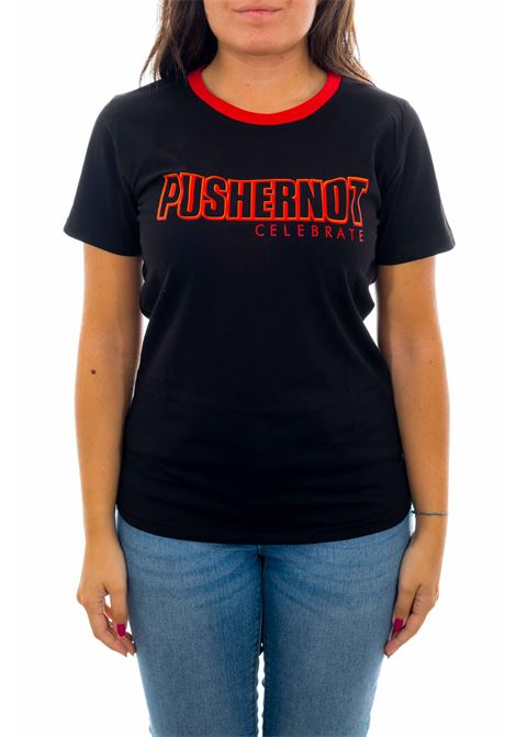 T-shirt PUSHERNOT | T-shirt | PDC02BLACK