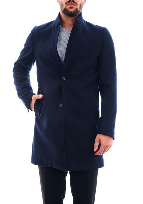 Cappotto in eco-lana SETTE/MEZZO | Cappotto | CP738-VITESSBLU