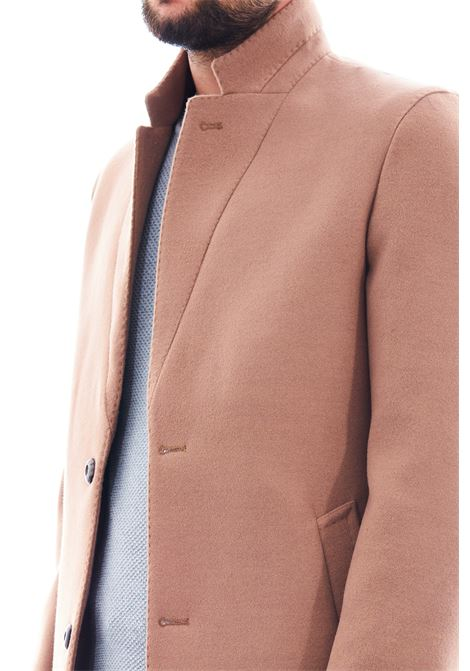 Cappotto in eco-lana SETTE/MEZZO   Cappotto   CP738-VITESSCAMMELLO