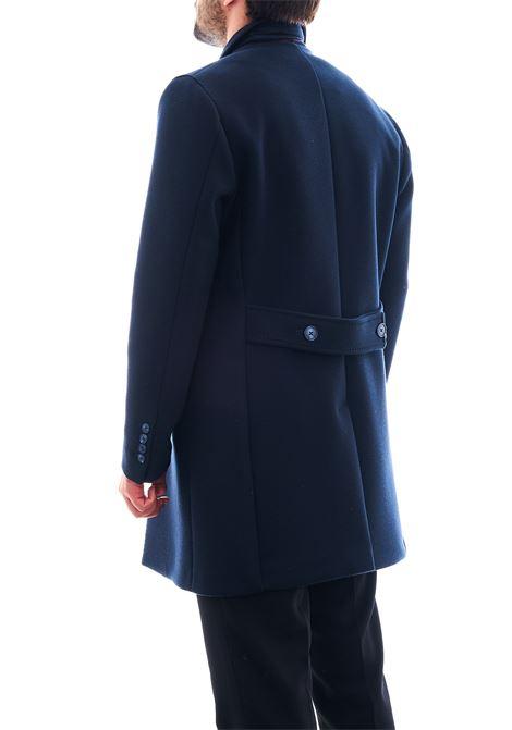 Cappotto in tessuto strutturato SETTE/MEZZO | Cappotto | CPS720-TWENTEBLU