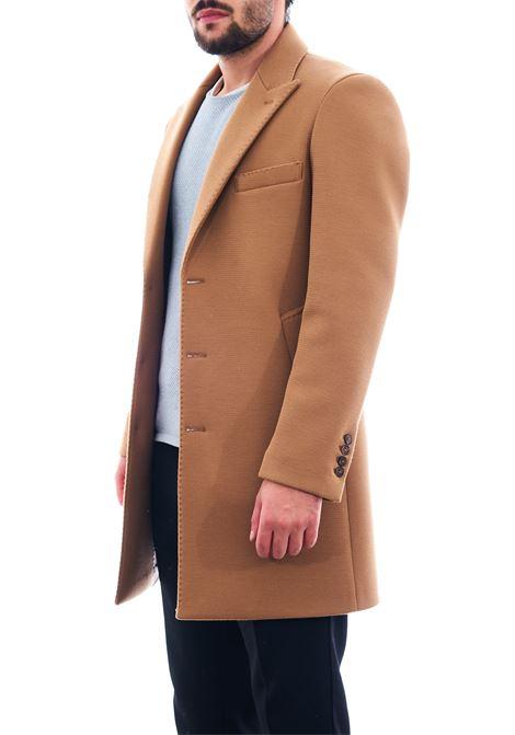 Cappotto in tessuto strutturato SETTE/MEZZO | Cappotto | CPS720-TWENTECAMMELLO