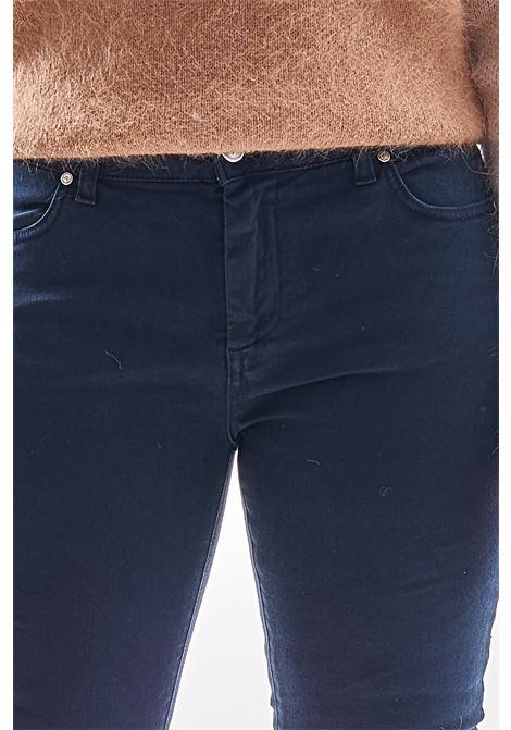 Pantaloni SETTE/MEZZO | Pantalone | E31-5 TASCHEBLU