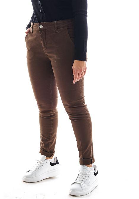 Pantaloni SETTE/MEZZO   Pantalone   E33-TASCA AMERICAMORO