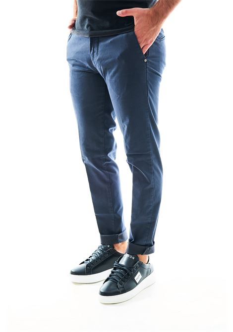 Pantalone chino SETTE/MEZZO | Pantalone | E98/146GRIGIO GRAFITE