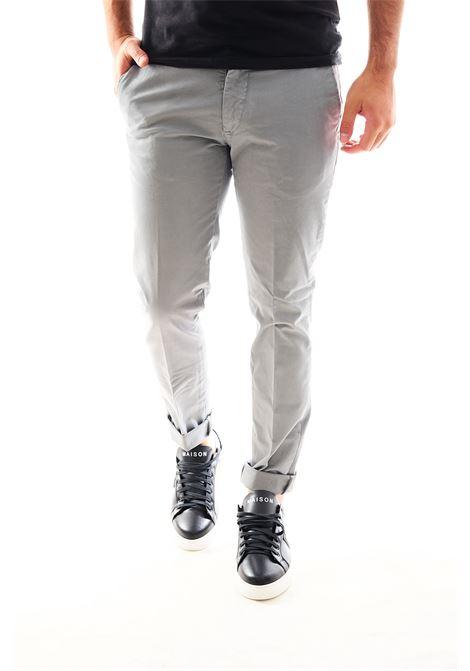 Pantalone chino SETTE/MEZZO | Pantalone | E98/146GRIGIO TITANIO