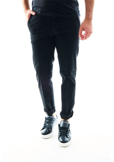 Pantalone chino SETTE/MEZZO | Pantalone | E98/146NERO